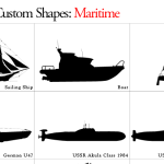 Maritime Custom Shapes by: lukeroberts
