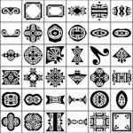 150 Ornate Shapes by: Shelby Kate Schmitz