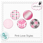 Pink Love  Photoshop Layer Styles