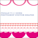 Frills Scalloped Edges Custom Shapes