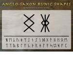 Anglo Saxon Rune Custom Shapes