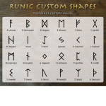 Rune Custom Shapes by: asgardstudios
