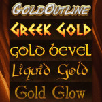 Gold Styles by: AnilCorn