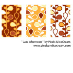 Late Afternoon Seamless Pattern