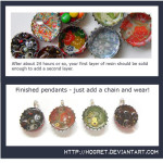 Tutorial: Resin Bottle Cap Pendants