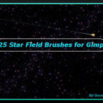 Star Field Gimp Brushes by: GeoSammy