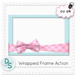 Wrapped Frame Action by: Delicious Scraps