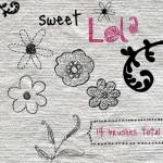 Sweet Lola Photoshop Gimp Brushes