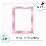 Dotted Frame Action by: Delicious Scraps