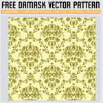Damask Vector Pattern by: Designious