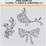 Floral Birds by: Designious