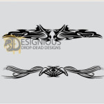 Tribal Vectors Sample by: Designious