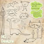 Misc. Brush Set 2 by: HG Designs