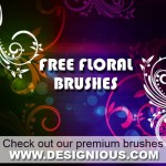Floral Brushes by: Designious