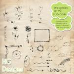 Little Scribblers Brush Set by: HG Designs