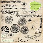 Doodle Brush Set 7 by: HG Designs