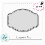 Free CU Layered Tag by: Delicious Scraps