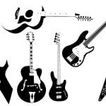 Guitar and Bass Custom Shapes by: PsHero