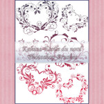 Ornamental Brushes Set 3 by: Etoile-du-nord
