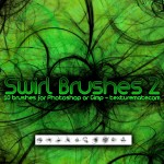 Swirl Brushes 2 By: TextureMate