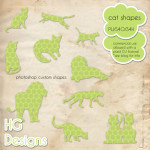 Cat CSH Shapes by: HG Designs