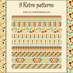 Retro Patterns by: Etoile-du-nord