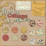 Retro Collage Styles by: HG Designs