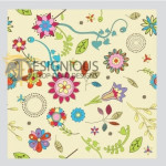 Retro Seamless Pattern Vector by: Designious