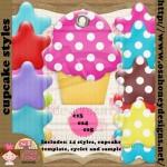 Cupcake Layer Styles by: osahoney