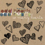 Free Photoshop Brushes – So Many Hearts