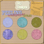 Peeling Wallpaper Styles by: HGDesigns