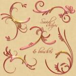 Swirls Shapes by: MrsLavender
