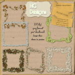 Freebie Frames Assortment by: HG Designs