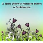 Spring Photoshop Brushes