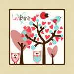 Free Love Birds Brushes