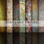 Seven Large Textures – Pack 10