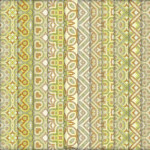 Tileable Beige Grungy Retro Patterns
