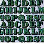 Vintage Vector Typeface McDonald