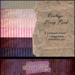 Free Pink n' Purple Digital Scrapbook Pack