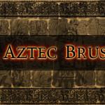 Aztec and Mayan Gimp Brushes