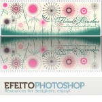 Floral Brush Set by: Roemenig