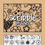 Free Scribble Doodles Brushes