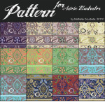 Free Illustrator CS5 Patterns by: nataliecourbete