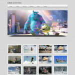 Free One Page PSD Template – Light