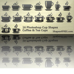 Free Custom Shapes Coffee Cups