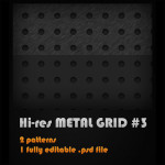 Metal Grid no. 3 by: mikeandlex
