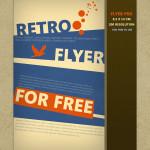 Free Retro Flyer PSD