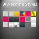 Awesome Photoshop Layer Styles