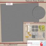 CU Scrap Texture Plate Freebie