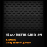 Metal Grid no. 2 by: mikeandlex